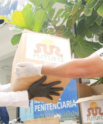 Sur Futuro entrega equipos especializados para población de centros penitenciarios afectados de coronavirus