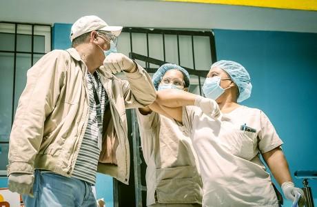 Sur Futuro Realiza Operativos Especiales de la Red de Apoyo contra Coronavirus en Comunidades de Montaña de Azua