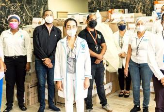 Santiago, Puerto Plata, Imbert, Luperón y Villa Isabela reciben alimentos e insumos médicos de la Red de Apoyo Contra Coronavirus