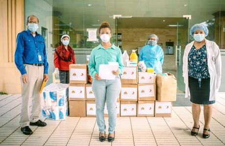 Red de Apoyo de Sur Futuro contra Covid 19 logra favorecer cientos de familias y hospitales en todo el país
